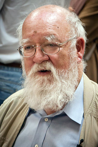 """Daniel Dennett 2"" by Dmitry Rozhkov - Own work. Licensed under CC BY-SA 3.0 via Wikimedia Commons"