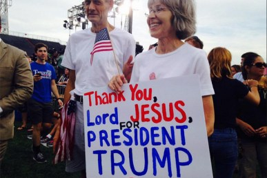 Image result for trump evangelicals