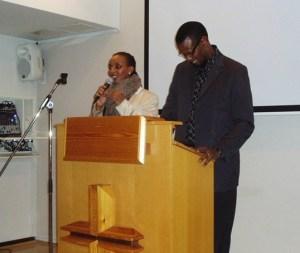 Pastor Jack og Dina Hope Christian Fellowship Church