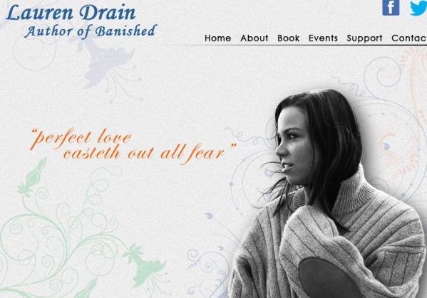 Laura Drain. Digitalfaksimile: lauradrain.com