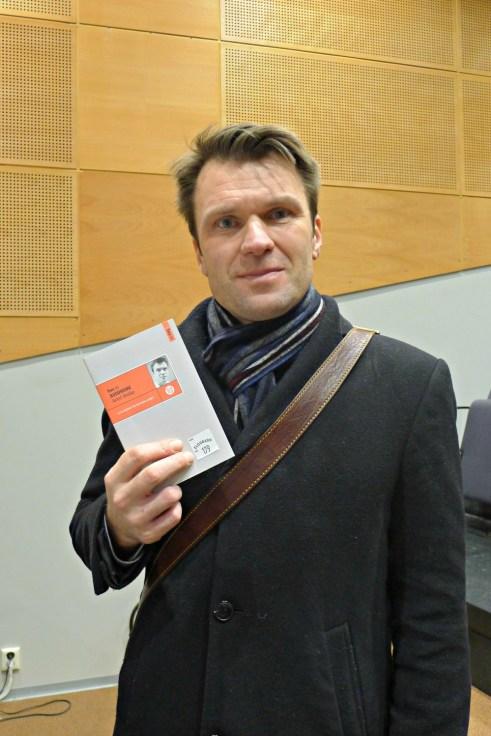 Torkel Brekke. Boklansering Eldoradosenteret. 2014(10)