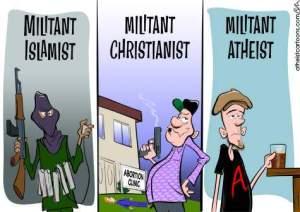 Illustrasjon fra Atheistcartoons.
