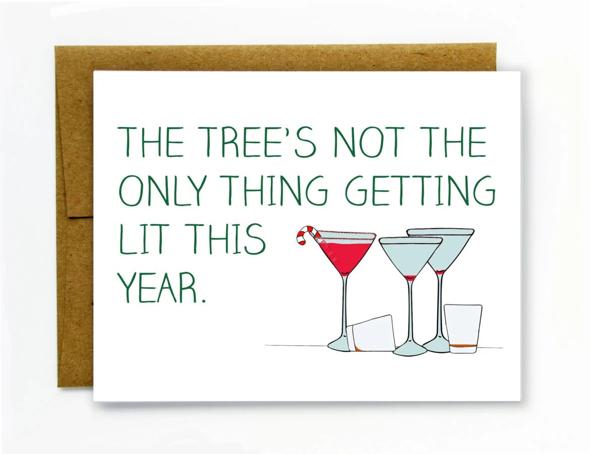 Anti Christmas Cards 11 Suck It Sentiments For 2016