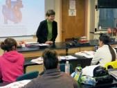 A Menominee Tribal biology class