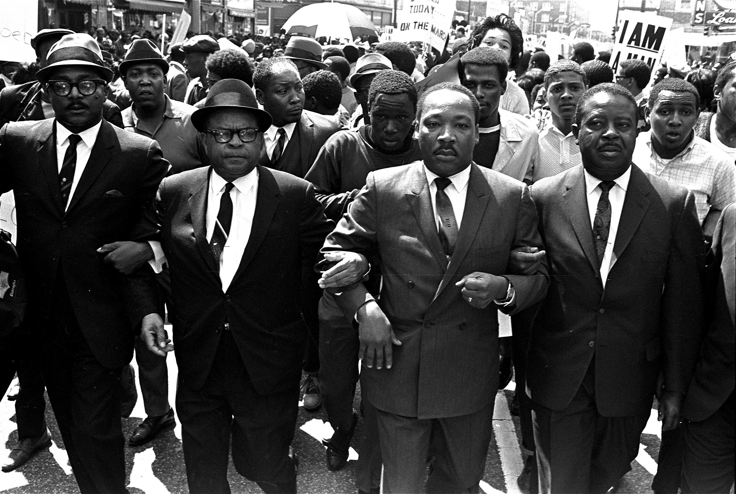 Print Civil Rights Leaders March