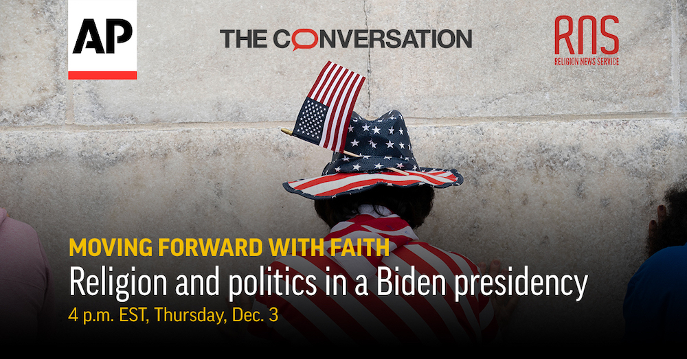 PANEL DISCUSSION: Join us as we look ahead to the role of religion in the Biden presidency