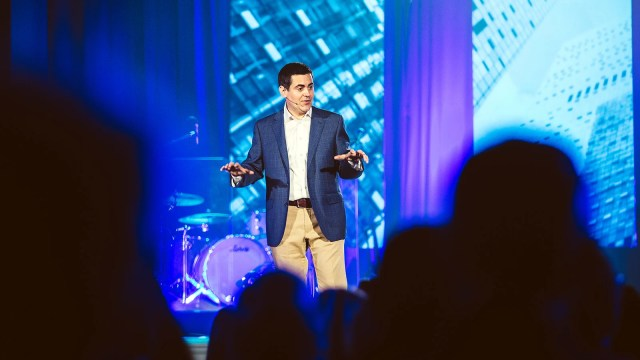 Russell Moore while president of the Southern Baptist Convention's Ethics and Religious Liberty Commission. Photo courtesy of ERLC