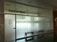 'Silent room' in a Spanish hospital