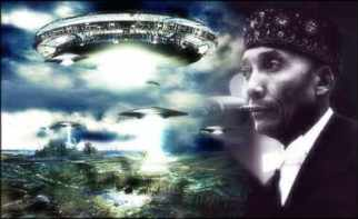 Image result for elijah muhammad spaceship