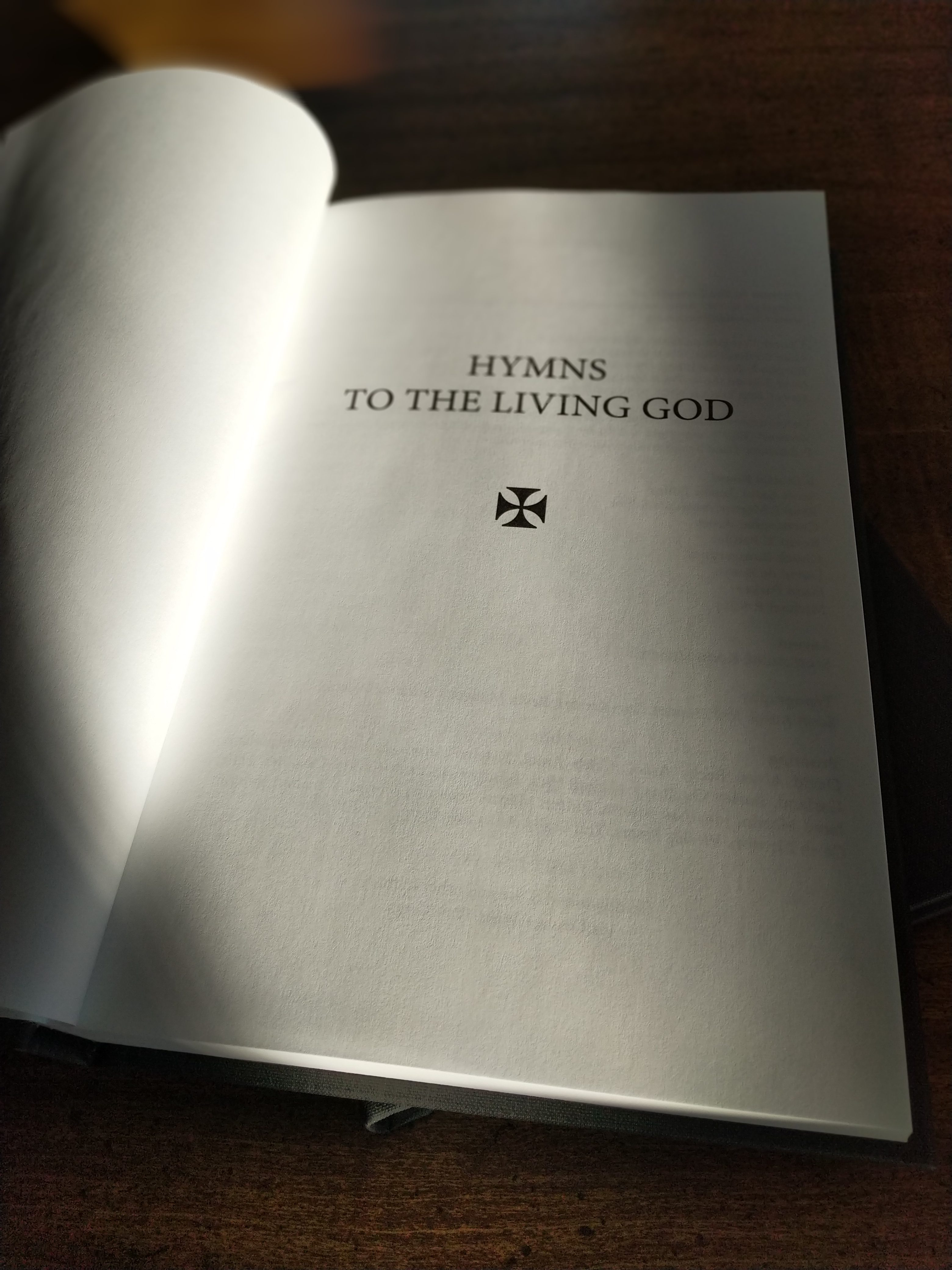 Introducing the New Church Pew Edition of Hymns to the Living God