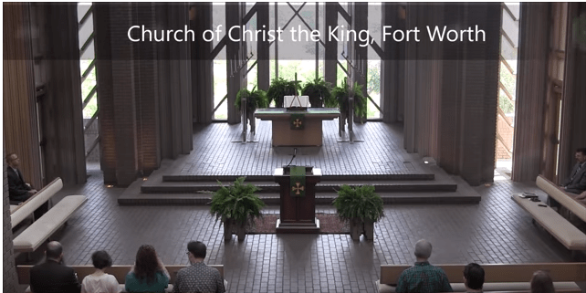 How Liturgy Tells the Story of the Christian Faith