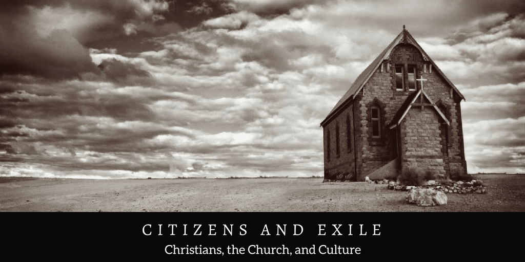The Church and Christian Cultural Involvement