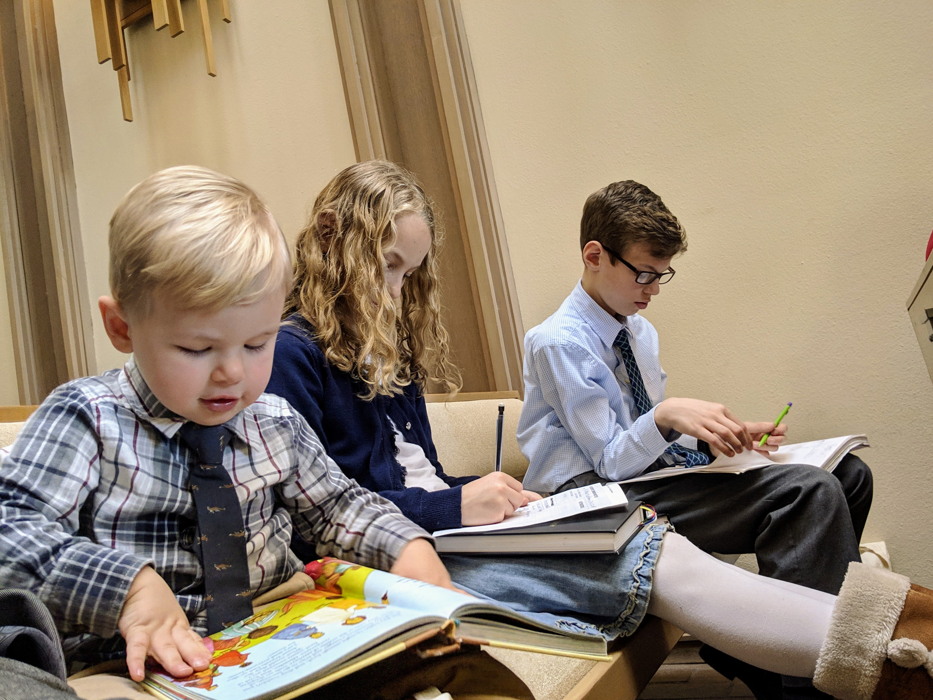 Why We Let the Little Ones Come to the Service