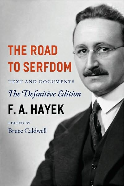 The Road to Serfdom by F. A. Hayek and A Humane Economy by Wilhelm Röpke