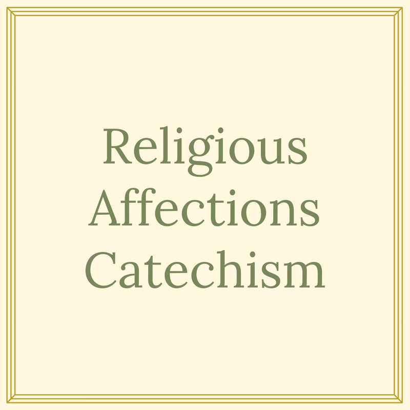 A New Catechism
