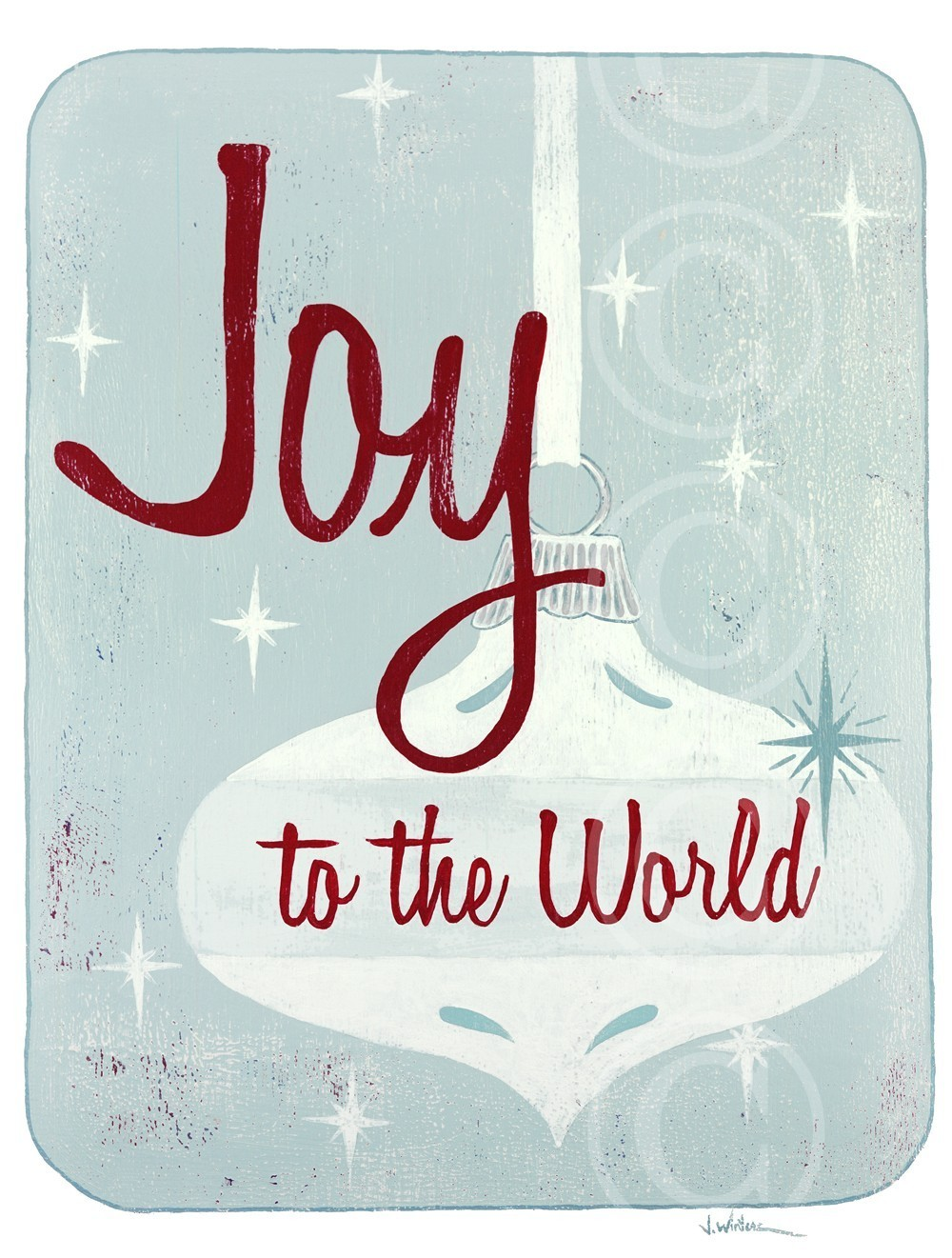"Which advent is in view in ""Joy to the World""?"