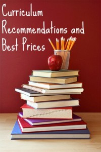 Curriculum Recommendations for 1st, 2nd, 3rd Grade