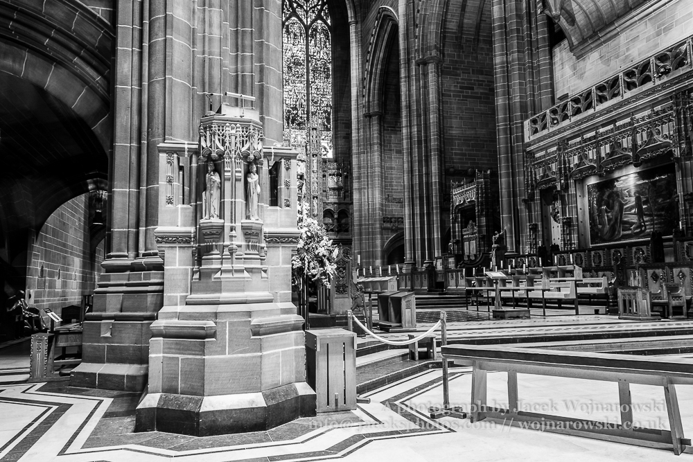 Liverpool Cathedral pulpit B