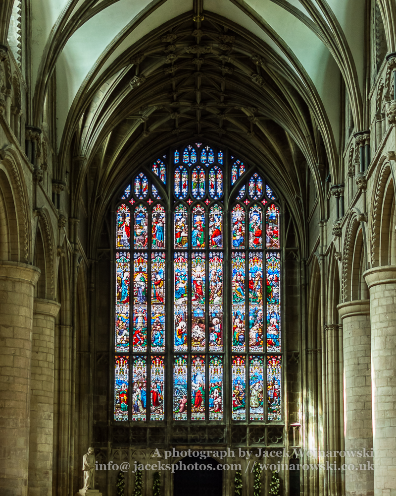 Gloucester Cathedral stained glass