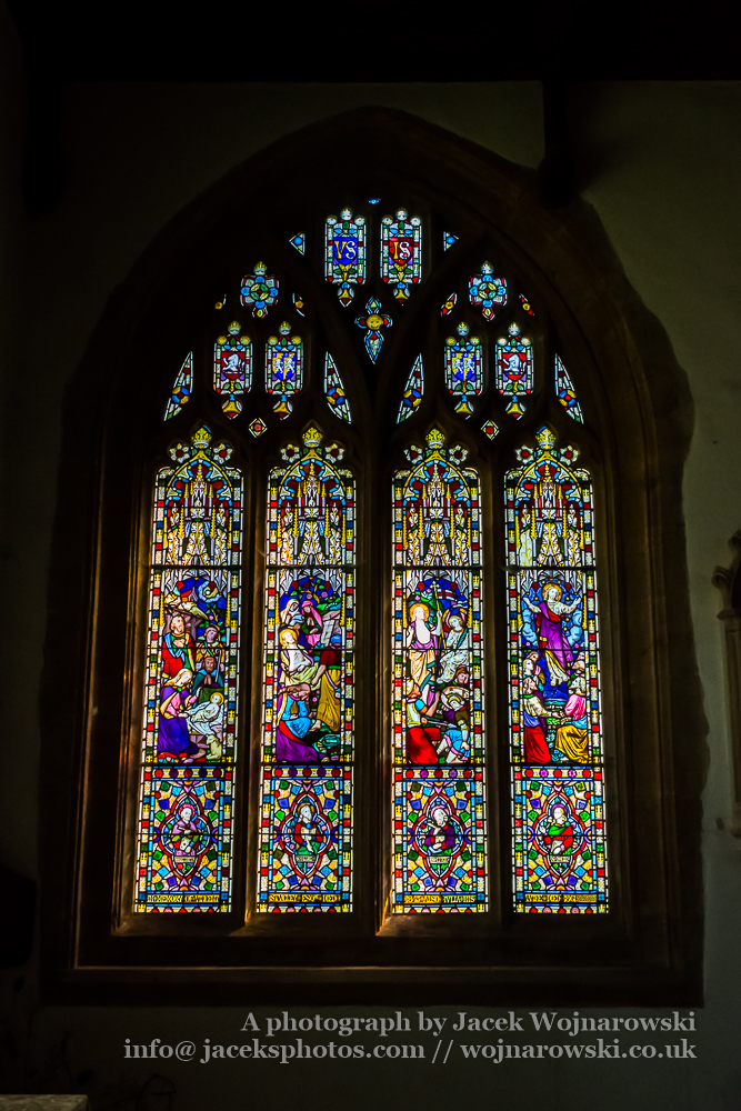 All Saints Church in Langport Stained Glass D