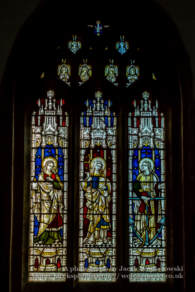 All Saints Church in Langport Stained Glass G