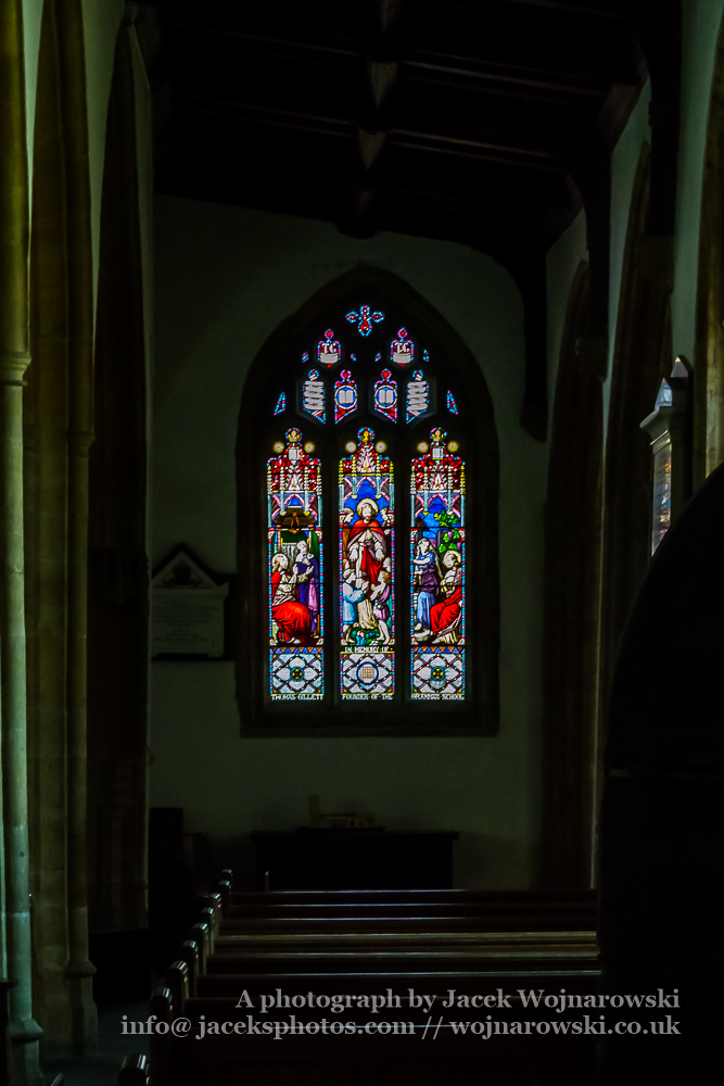 All Saints Church in Langport Stained Glass I