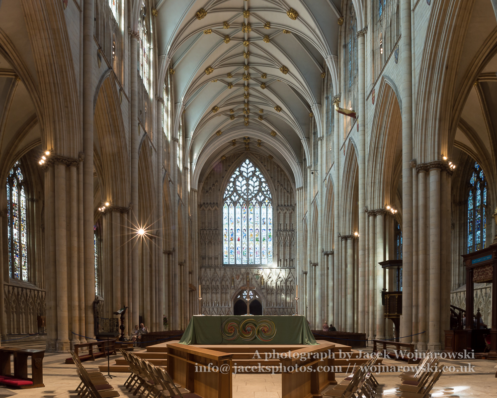 York minster altar with west window religious architecture for West window york minster