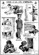 LSF Conscientious Objector in Prison by G.P. Micklewright