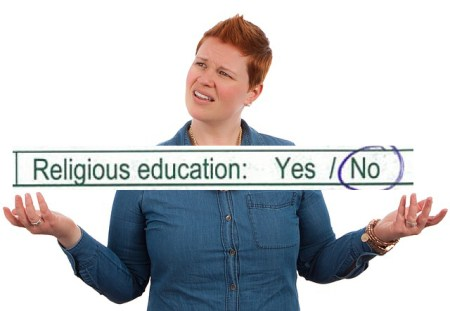 religious education on enrolment forms