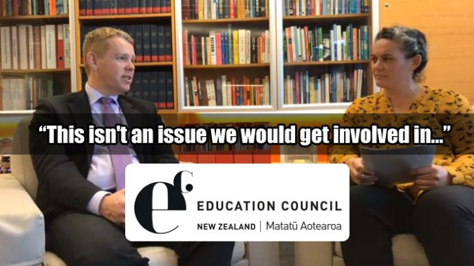 Chris Hipkins on inclusiveness & bullying
