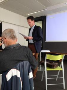 Theologian Gijsbert van den Brink. Photo by Rik Peels