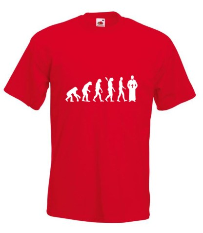 Priest Evolution TShirt Red