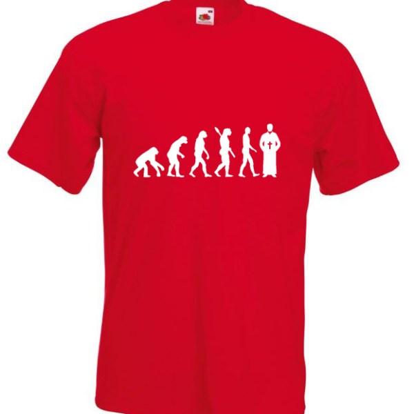 Priest Evolution TShirt Red