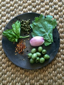 Unlikely pesto ingredients....surprise yourself!