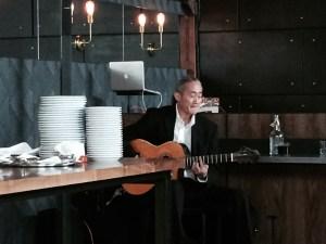 Spanish guitarist Toshi Onizuka.