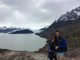 Hiking to the glacier