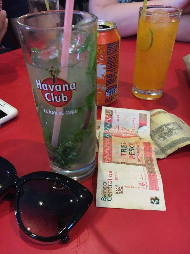 More mojitos...