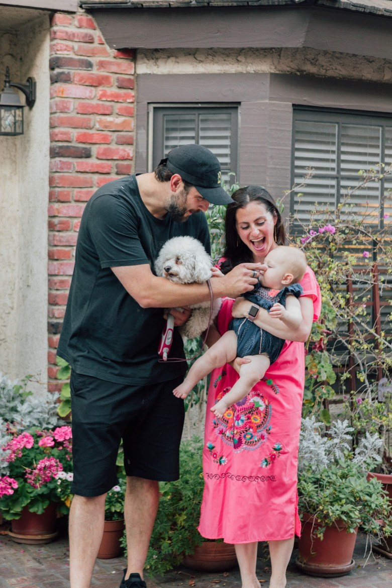 Blogger, RELish and her family
