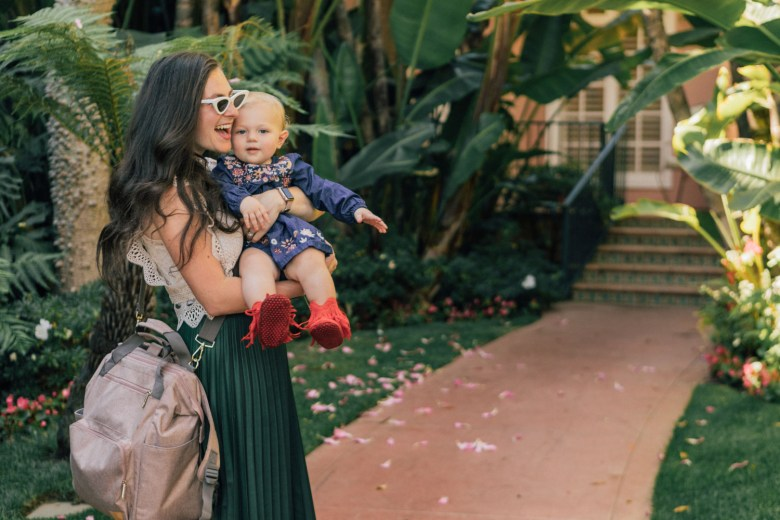Los Angeles blogger, RELish By Arielle, shares her favorite diaper backpack