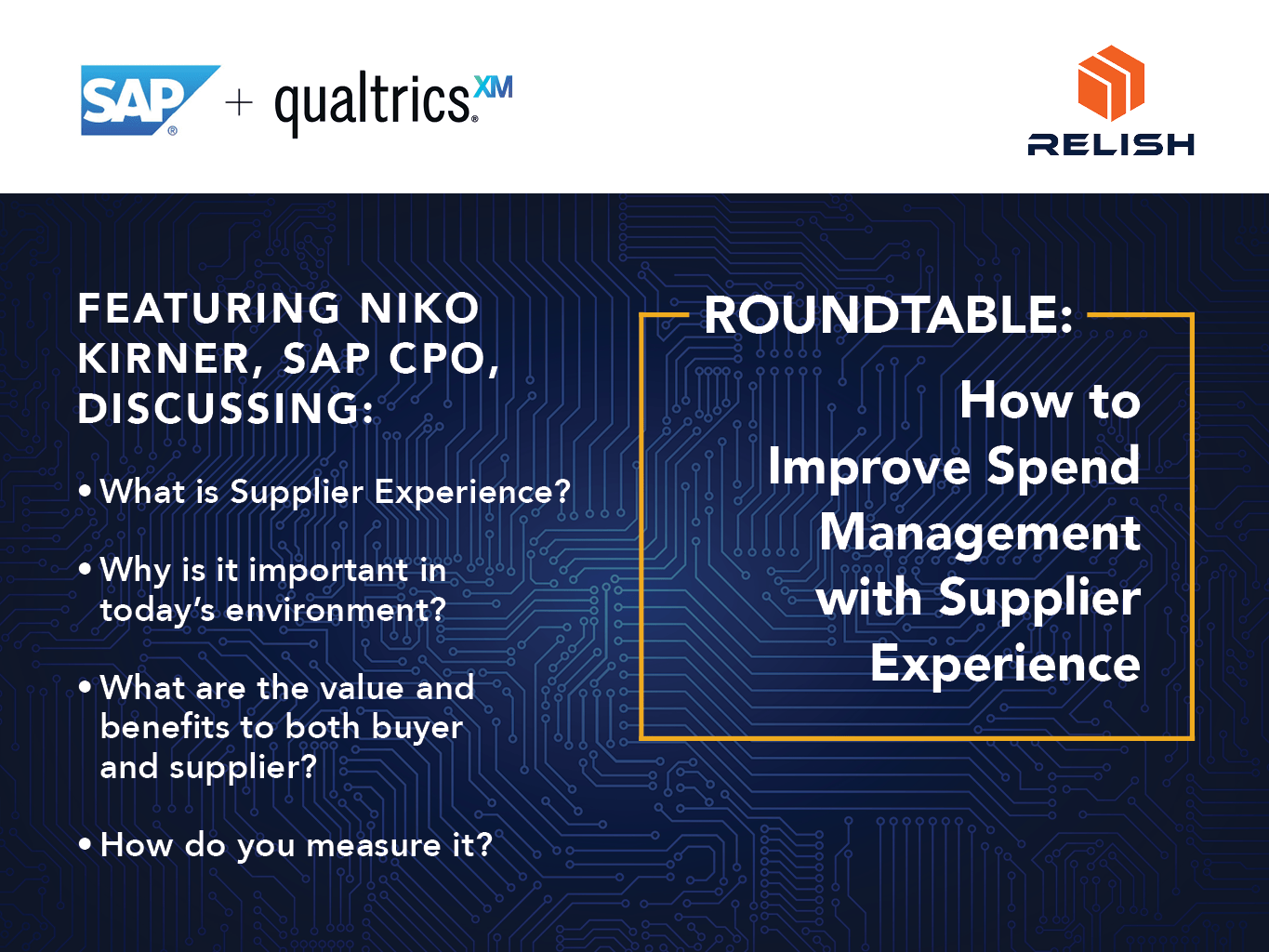 Improve Spend Management with Supplier Experience