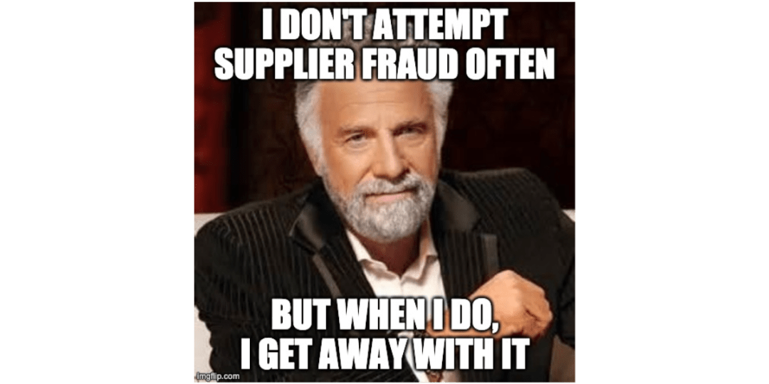 stop supplier fraud