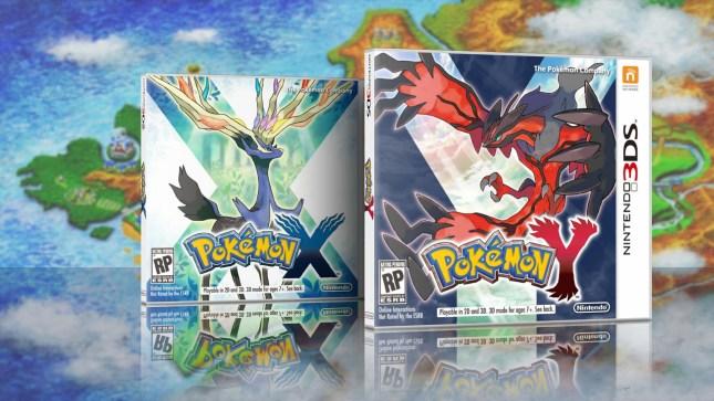 Carátula Pokémon X Y
