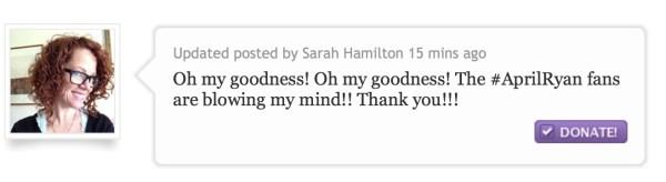 Comentario Sarah Hamilton