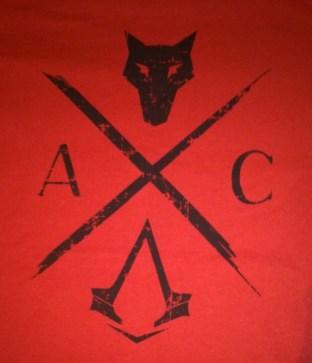 Camiseta sorteo Assassin's Creed