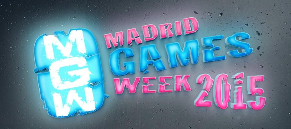 Madrid Games Week 2015 logo banner