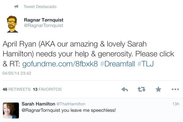 Twitter Sarah Hamilton