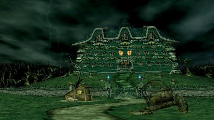 luigi's mansion - mansion