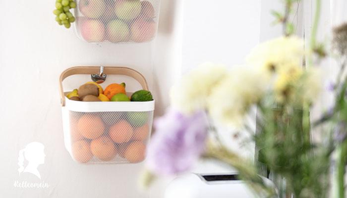 Bananen im Kühlschrank - Obst richtig lagern - DIY Obstaufbewahrung   relleomein.de #ikea #diy #aufbewahrung