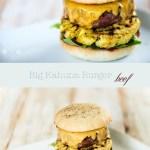 Pulp Fiction Big Kahuna Burger   relleomein.de #vegan #beef