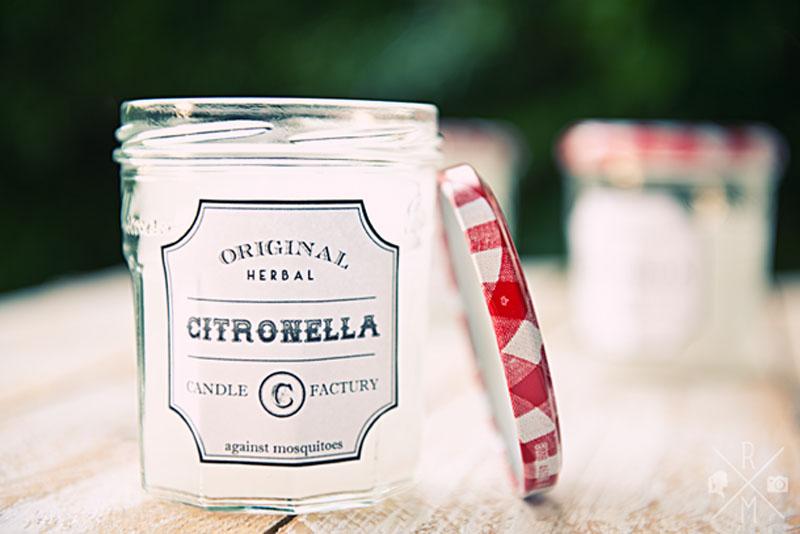Citronella Candle Mückenkerze selbst gemacht | relleomein.de